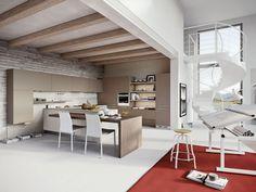 cucina laccata lucida bianca cucine | idee cucina | pinterest | cucina - Cose Di Casa Cucine