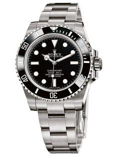 Find the best Rolex Submariner price for Rolex Submariner Watch: steel - 114060 model Rolex Submariner Gold, Rolex Submariner Schwarz, Rolex Submariner 16610, Rolex Gmt, Rolex Daytona Gold, Gold Rolex, Black Rolex, Diesel Watches For Men, Rolex Watches For Men