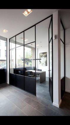 Steel Doors at The office... By Gijs&Robert.com