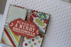 Kaisercraft Mistletoe! Let the Christmas preparations begin...