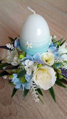 dekorBEA / Svietnik - dekoracia v belasom Sugar Art, Easter Decor, Table Decorations, Garden, Home Decor, Homemade Home Decor, Garten, Lawn And Garden, Outdoor