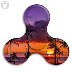 Tri Spinner Spinner Fidget Toy Fidget Sunset Beach Stress Free Anxiety - Fidget spinner (*Amazon Partner-Link)