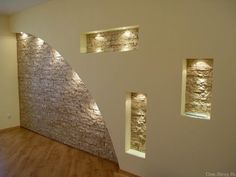 13 of The Most Stunning Illuminated Wall Niches to Enjoy Daily