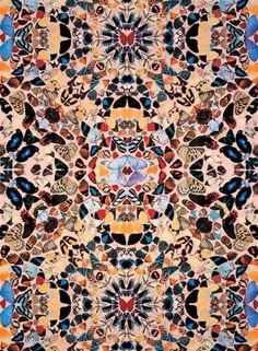 Damien-Hirst-Butterfly-Wallpaper
