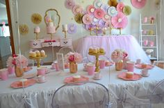 Princess Tea Birthday Party Ideas | Photo 1 of 35 | Catch My Party