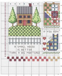 Schema punto croce Country-folk-2