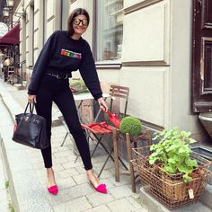 ♡ #Giovannabattaglia #Streetstyle #lookbook #fashion #chic #style #Italian #voguejapan