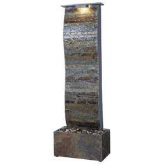 Kenroy Home Curvature Indoor Floor Fountain | LampsPlus.com