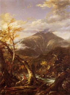Indian Pass Tahawus - Thomas Cole