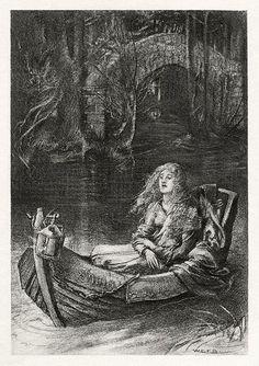 W. E. F. Britten - The Lady of Shalott - 1901