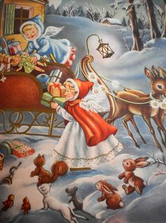 Stuffing the sleigh