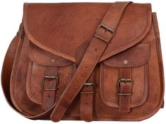 Amazing offer on KPL 14 Inch Leather Purse Women Shoulder Bag Crossbody Satchel Ladies Tote Travel Purse Genuine Leather (Tan Brown) online - Topnewshop Brown Crossbody Purse, Leather Crossbody, Leather Bag, Leather Briefcase, Crossbody Bags, Brown Leather, Leather Purses, Leather Handbags, Brown Handbags