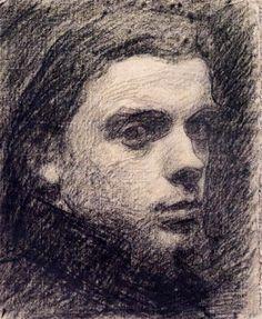 Henri Fantin-Latour, self-portrait, 1855