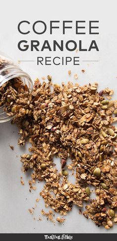 Coffee Granola Recipe