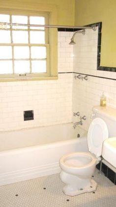 Upstairs bath. Pre-remodel