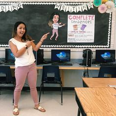 Want to use your bitmoji in the classroom? Get ideas here from teachers who have turned their bitmojis into fun ideas to encourage learning. Classroom Hacks, 5th Grade Classroom, Future Classroom, School Classroom, Classroom Organization, Classroom Management, In The Classroom, Classroom Door, Science Classroom
