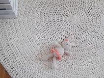 Sznurkowy dywan okrągły średnica 130cm