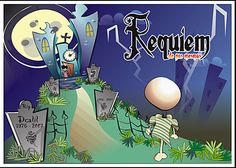 Ilustração - Requiem de nós mesmos.
