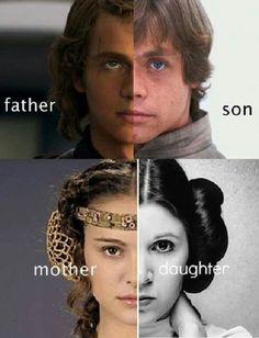 Skywalker family - wow...great casting!