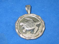J-23 Vintage Pendant sterling  silver by HipTrends2015 on Etsy