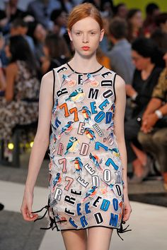 The 10 Milan Fashion Week Trends To Watch #refinery29  http://www.refinery29.com/milan-fashion-week-trends-2014#slide6  MSGM