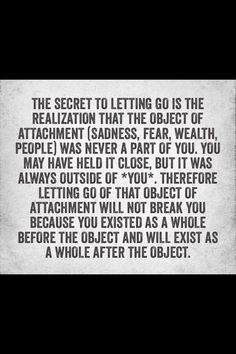 . Wow. That's profound. I need to read this every day as I clean house and declutter.