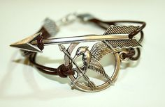 This Mockingjay bracelet. | 28 Literary Accessories All Book Lovers Must Have