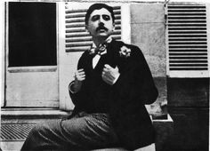 """Marcel Proust was born on this day in 1871. Happy 143rd birthday, Marcel Proust!  These days Proust is known as a genius, the author of the ..."" Site"
