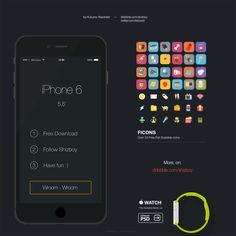 iPhone 6 Plus - 365psd