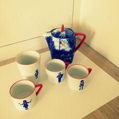 Ceramics by Hanka Vinklarkova Design Inspiration, Pottery, Clay, Tableware, Ceramica, Clays, Dinnerware, Pottery Marks, Tablewares