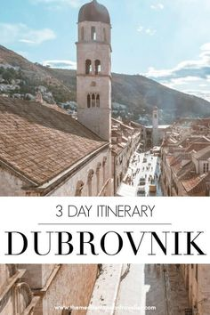 : Delightful Dubrovnik: A Relaxed 3 Day Itinerary : 3 Days in Dubrovnik: A Relaxed Itinerary. How to see the highlights of this Croatian city including the unmissable medieval walls, Game of Thrones locations, peacocks, cave bars and cable cars. Croatia Travel Guide, Europe Travel Tips, Travel Goals, European Travel, Travel Guides, Travel Destinations, Europe Budget, Travel Icon, Spain Travel
