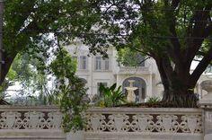 Palacete da família Jafet no Ipiranga na Rua Bom Pastor  vista de fora