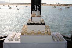 Beach wedding Cake  www.oohlalabakingco.com