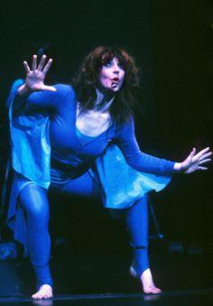 "Kate Bush performing ""Kite"" during the ""Tour of Life"", 1979."