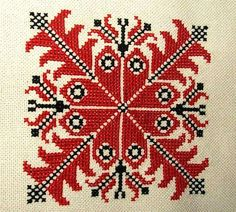 Beregi keresztszemes Hungarian Embroidery, Learn Embroidery, Cross Stitch Embroidery, Vintage Jewelry Crafts, Blog Planner, Blogger Templates, Christmas Cross, Chain Stitch, Blackwork