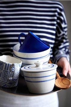 Blue stripes #blue