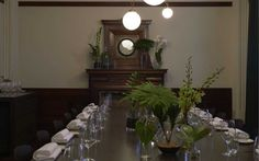 Print Hall - Chairman's Office: Function room in Perth WA Function Room, Private Dining Room, Event Venues, Perth, Table Settings, Meeting Rooms, Home Decor, Decoration Home, Room Decor