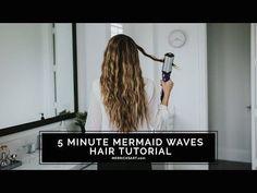 A Quick Beachy Wave Hair Tutorial with the Bed Head Artist Deep Waver Tool | Merrick's Art | 1003