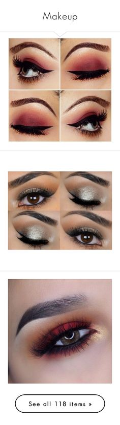 """""""Makeup"""" by afbdzjm ❤ liked on Polyvore featuring makeup, beauty products, eye makeup, eyeshadow, beauty, eyes, bath & beauty, grey, hypoallergenic eyeshadow and mineral eyeshadow"""