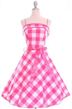 50's Vintage Swing Dress  I would love one!