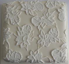 Lace Wedding Cake - Cake by Sugar Ruffles