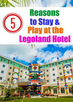 5 Reasons to Stay at the Legoland- Florida Hotel: the minifigure wall, which is made of 5,000 minifigure, Kids can build with Master Model Builders, and more!
