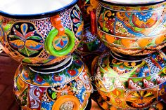 Wow!-- Traditional Mexican ceramic vessels