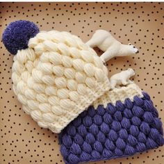 Hats Archives - Beautiful Crochet Patterns and Knitting Patterns Crochet Cap, Crochet Beanie, Love Crochet, Crochet For Kids, Beautiful Crochet, Crochet Stitches, Knitted Hats, Blanket Crochet, Crochet Crafts