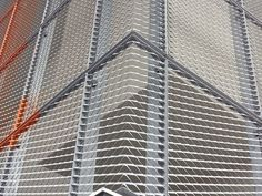 Expanded metal references from aluminium, steel and stainless steel in formates and coils. Expanded Metal Mesh, Obi, Blinds, Steel, Czech Republic, Metal Frames, Detail, Screens, Design