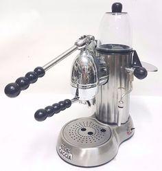 rara macchina caffè a leva achille gaggia handhebel espressomaschinen
