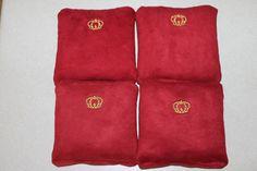 Crown Royal cornhole bags