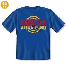 Passendes Fun-Shirt zum 20. Geburtstag - Einzelstück - Original seit 20 Jahren - Geschenk für die Geburtstagsparty (*Partner-Link)