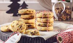 Haselnuss-Karamell-Gebäck Rezept | Dr. Oetker Shortbread Cookies, Cake Cookies, Muffins, Goodies, Cupcake, Food And Drink, Ice Cream, Sweets, Snacks