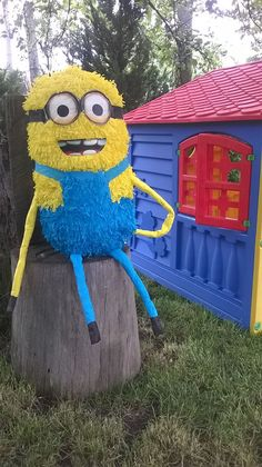 minion in the garden